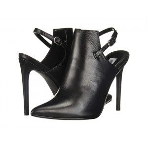 Daily Bootie Black Leather