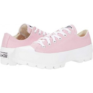 Converse Chuck Taylor All Star Lugged Seasonal Color Ox Lotus Pink/White/White