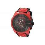 Mega Chief Chronograph Red Silicone Watch