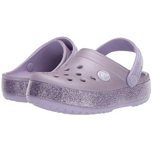 Crocband Glitter Clog (Toddler/Little Kid/Big Kid) Lavender