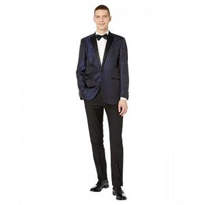 Slim Fit Peak Collar Tuxedo with Stretch