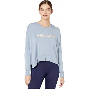 good hYOUman Gina Girl Gang Hoodie Polar Blue