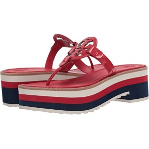 Tory Burch Miller 60 mm Platform Sandal Brilliant Red