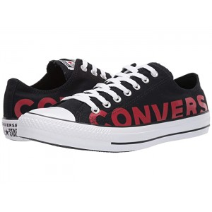 Chuck Taylor All Star Wordmark 2.0 - Ox Black/Enamel Red/White