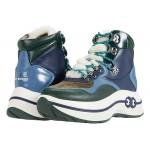 Tory Burch Gemini Link Platform Hiking Boot Pine Tree/Blue Haven