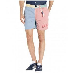 Montauk Color Block Shorts Multi/Print