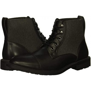 Kenneth Cole Unlisted Roll Boot B Black