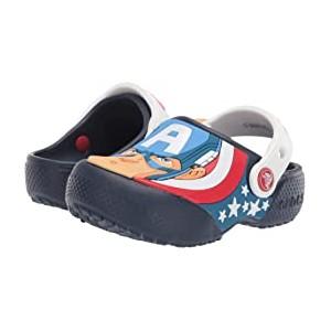 CrocsFunLab Captain America Clog (Toddler/Little Kid) Navy