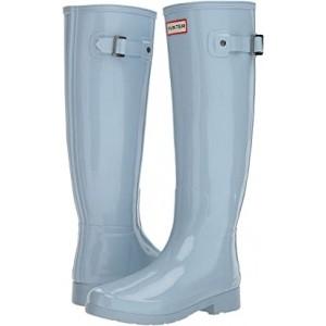 Original Refined Gloss Rain Boots Fountain Blue