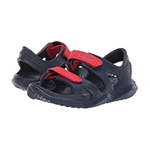 Swiftwater River Sandal (Toddler/Little Kid) Navy/Flame