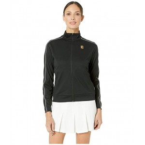Court Warm Up Jacket Black/Black/White