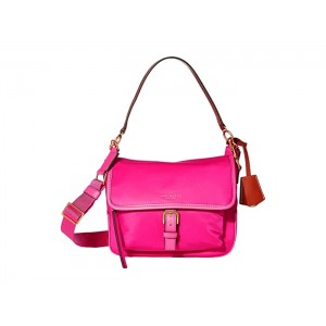 Perry Nylon Crossbody Bright Pink
