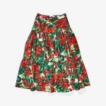 Dolce & Gabbana Kids Skirt (Big Kids) Geranium Print