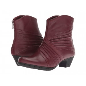 Brynn Rouched Boot Merlot