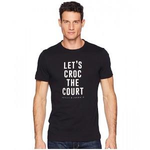 Sport Short Sleeve Novak Djokovic Jersey Croc Court Graphic