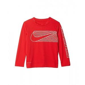 Nike Kids Dri-FIT Dominate Graphic T-Shirt (Toddler) University Red