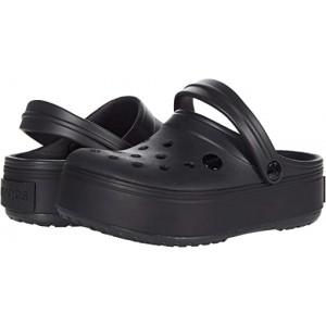 Crocs Crocband Platform Clog Black/Black 1