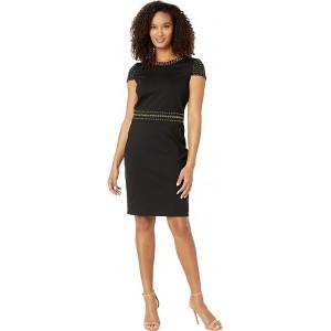Heat Grommet Cap Sleeve Dress