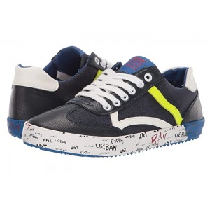 Alonisso Boy 33 (Big Kid) Navy/Fluo Yellow