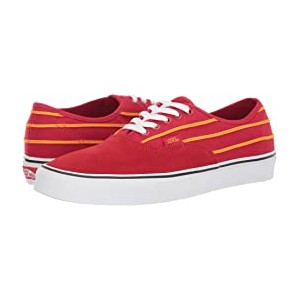 Authentic Sport Stripes Racing Red/Cadmium Yellow