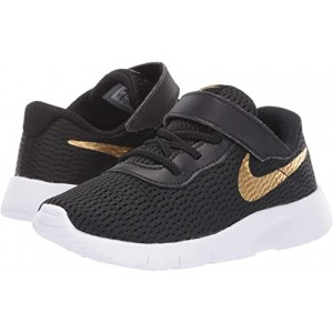 Nike Kids Tanjun (Infantu002FToddler) Black/Metallic Gold/White