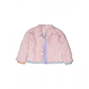 Faux Fur Jacket with Denim Details Early (Toddler/Little Kids/Big Kids)