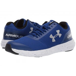 UA BGS Surge Running (Big Kid) Royal/White/Metallic Silver