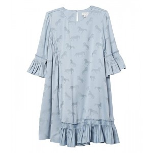 Horses Dress with Frills (Toddler/Little Kids/Big Kids)