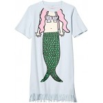 Short Sleeve Mermaid Fringes Dress (Toddler/Little Kids/Big Kids)