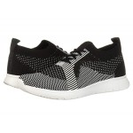 FitFlop Marble Knit Slip-On Sneaker Black/White