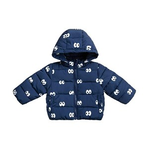 Cartoon Eyes Puffer (Infant)