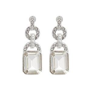 Post Stone Drop Earrings