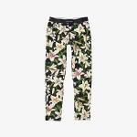 Dolce & Gabbana Kids Lily Print Interlock Leggings (Big Kids) Gigli Nero