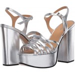 Marc Jacobs The Glam Sandal 80 mm Silver