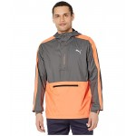 PUMA Pivot 1u002F2 Zip Jacket Smoked Pearl/Fizzy Orange