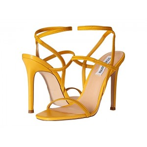 Nectur Heeled Sandals Yellow