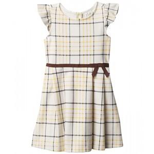 Plaid Ponte Dress (Toddler/Little Kids/Big Kids)