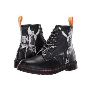 1460 Sex Pistols Collab Black Backhand Straw Grain Leather