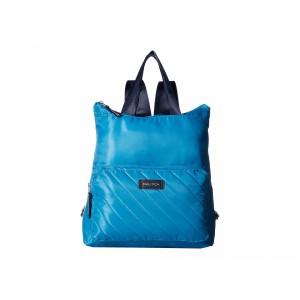 New Tack Diagonal Quilt Backpack Bright Blue