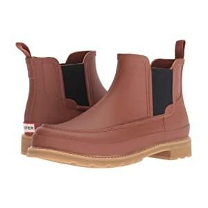 Lightweight Mock-Toe Chelsea Boots Pine Cone