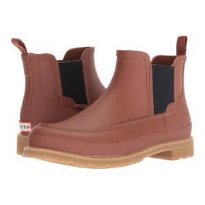 Lightweight Mock-Toe Chelsea Boots Pine Cone