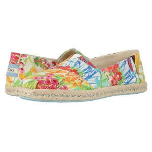 Alpargata on Rope Sunshine Floral Delight Lawn on Rope