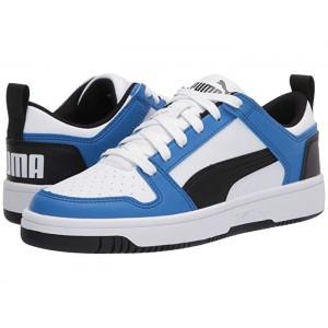 Rebound Layup Lo Sl (Big Kid) Puma White/Palace Blue/Puma Black