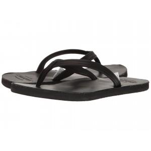 Tides Flip Flop Black Leather