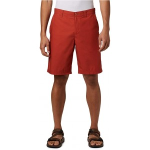 Columbia Washed Out Short Carnelian Red