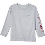 Sam Long Sleeve Solid Crew Neck Tee Shirt (Big Kids)