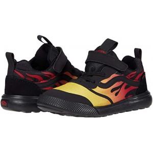Vans Kids UltraRange Rapidweld (Infantu002FToddler) Flame Black
