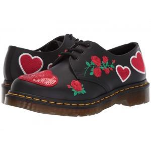 1461 Hearts Core Applique Black/DMS Red