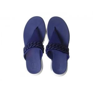 Heda Chain Toe-Thong Midnight Navy