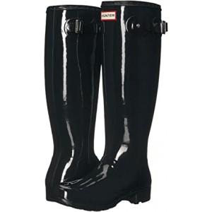 Original Tour Gloss Packable Rain Boot Black